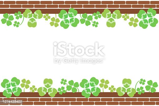 Flowerbed and clover