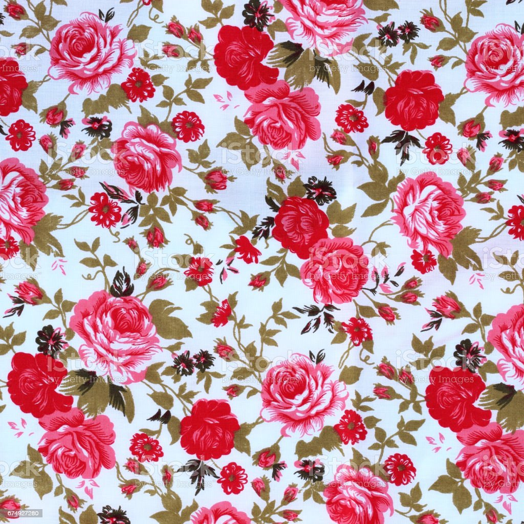 flowers fabric pattern background royalty-free flowers fabric pattern background stock vector art & more images of abstract