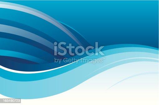 istock Flowing Blue 165490723