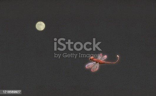 istock Fly alone 1218589927