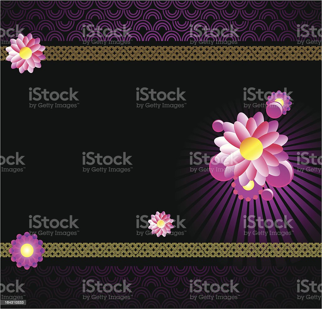 Fly Thai royalty-free stock vector art