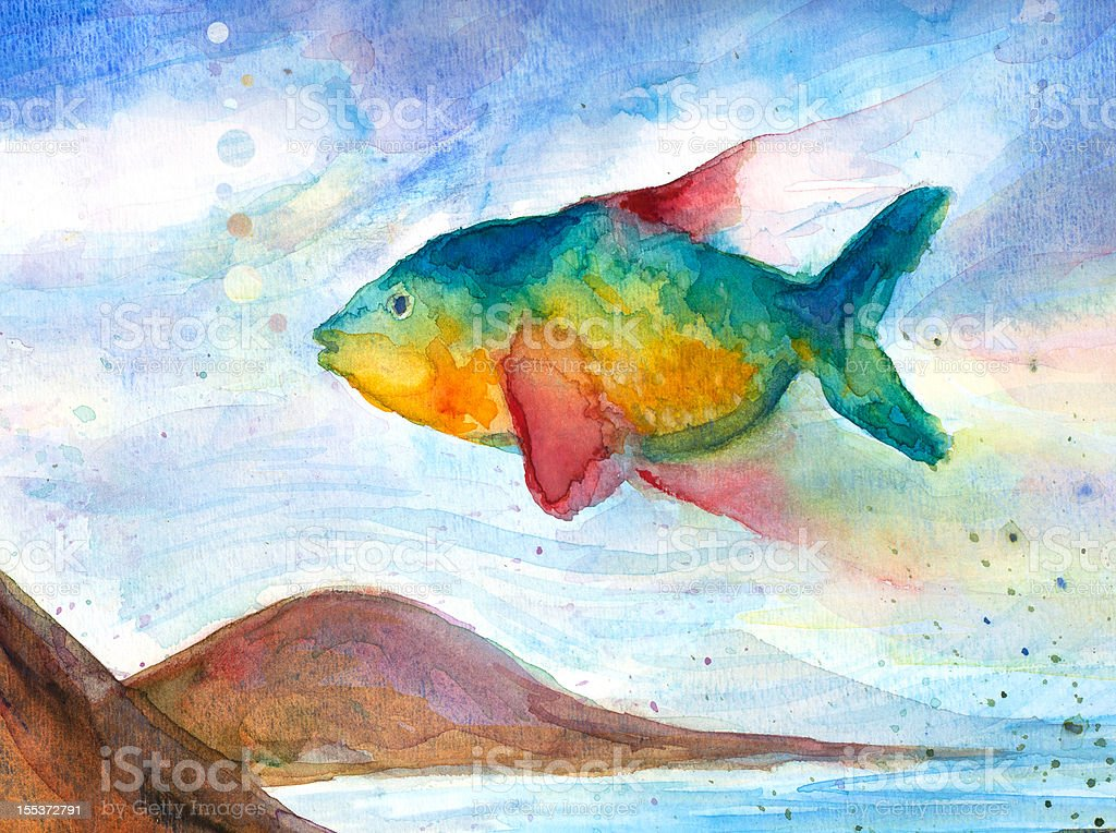 Flying Fish royalty-free flying fish stock vector art & more images of aspirations