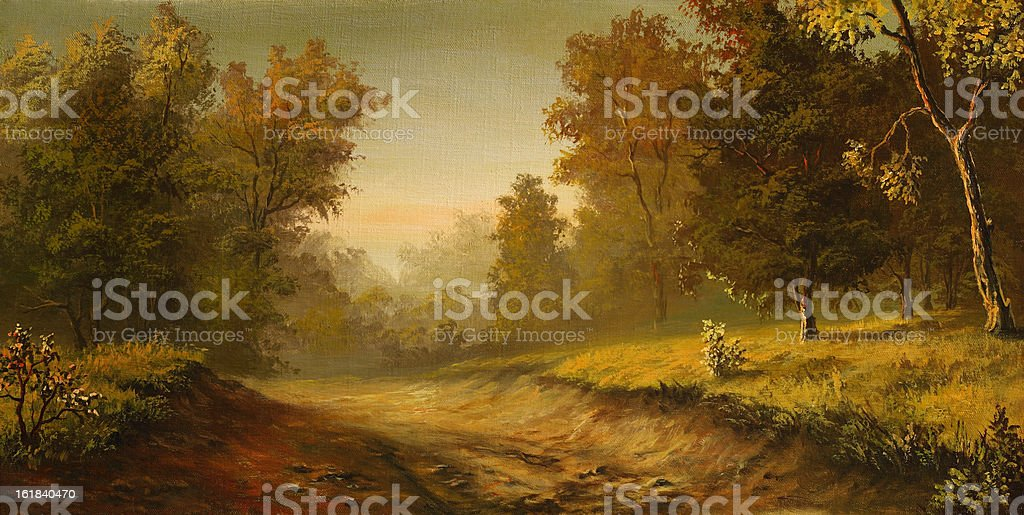Foggy road royalty-free foggy road stock vector art & more images of ancient