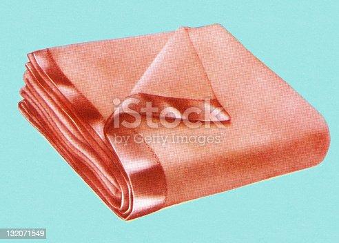 istock Folded Blanket 132071549