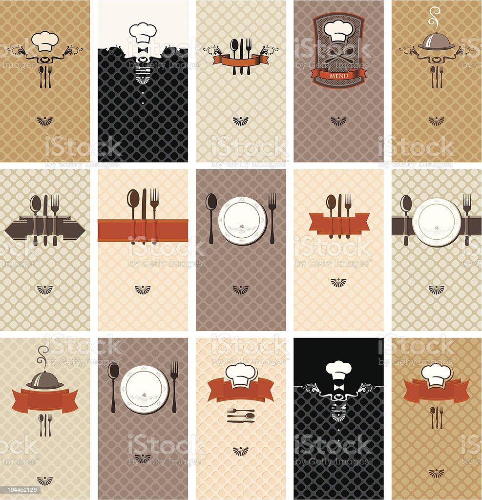 food beverages vector art illustration