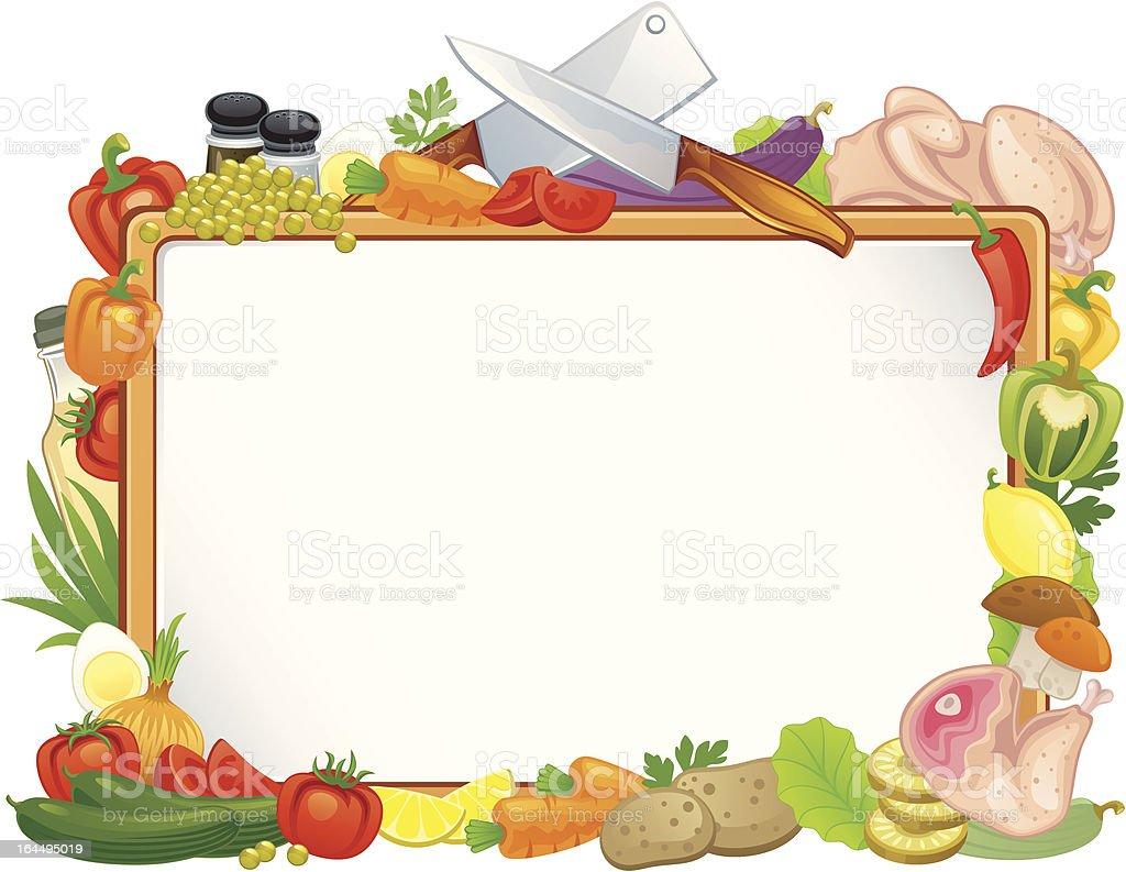 Food Frame Stock Illustration - Download Image Now - iStock