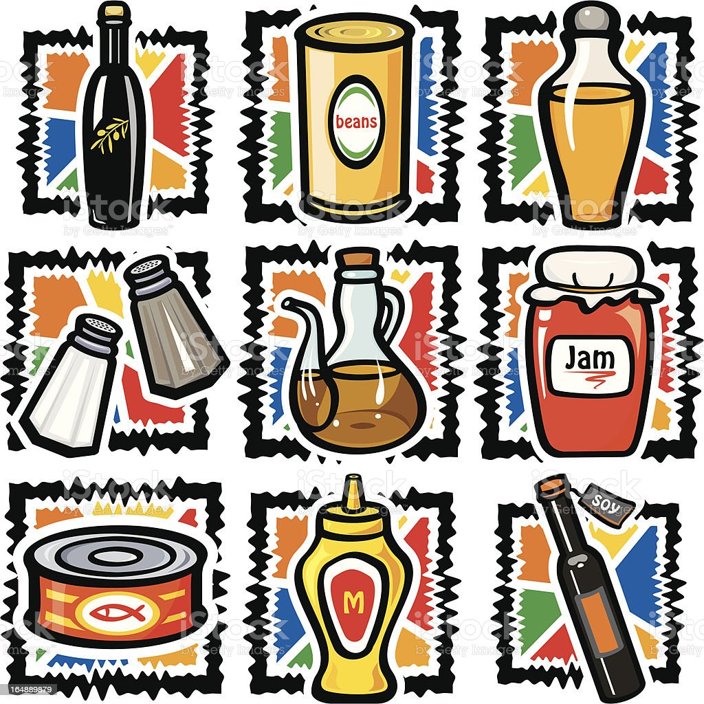 Food VI: Misc (Vector) royalty-free food vi misc stock vector art & more images of arranging