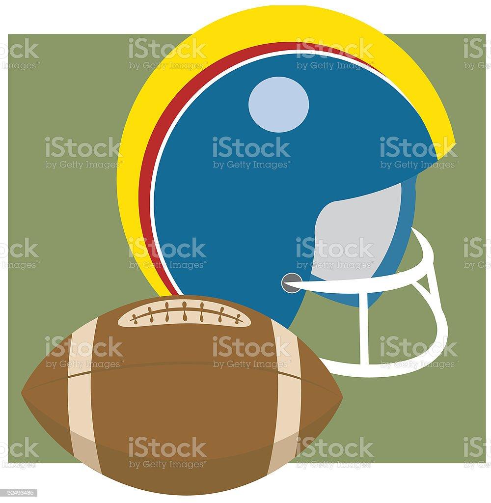 Équipement de Football - Illustration vectorielle