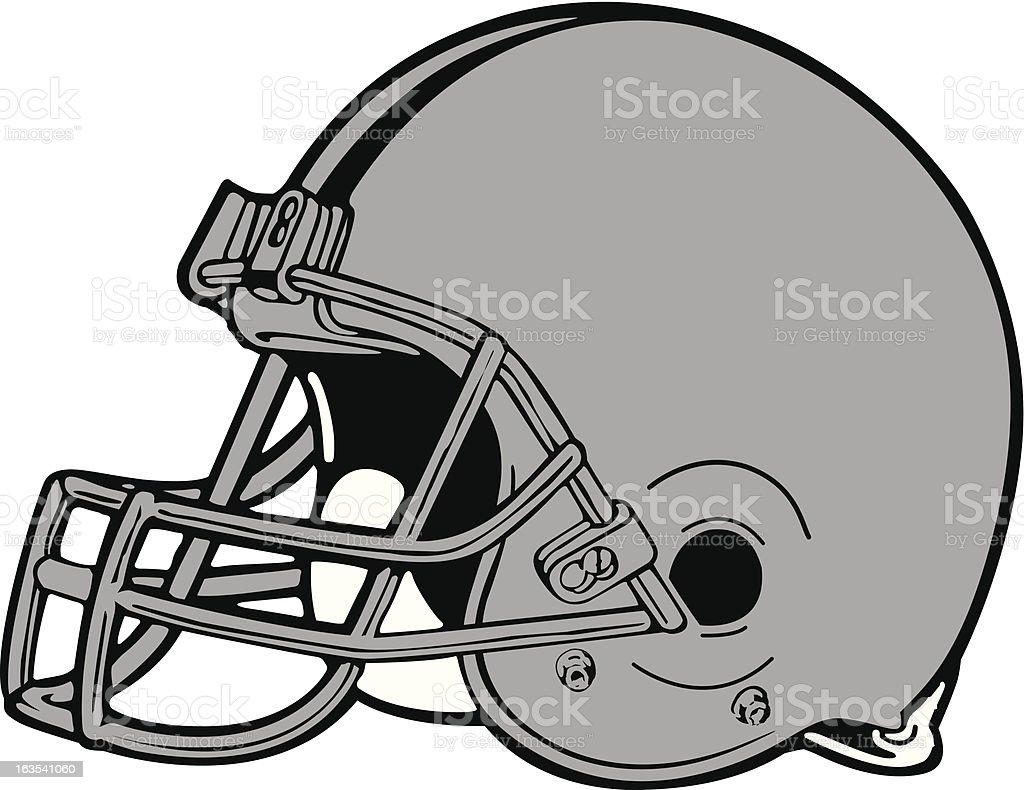 football helmet stock vector art more images of animals in the rh istockphoto com free football helmet vector art