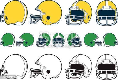 istock Football Helmet 164549389