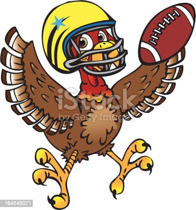 Amazon.com: Thanksgiving Holiday Football Turkey - For Light-Colored  Materials - Iron On Heat Transfer 7