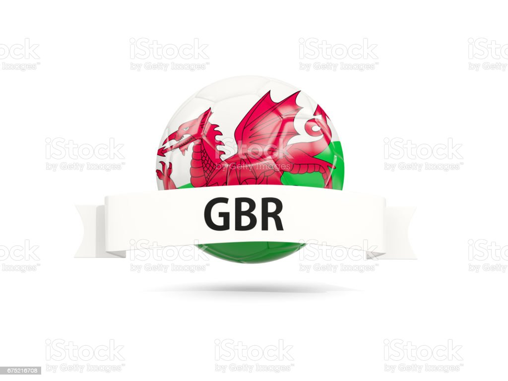 Football with flag of wales royalty-free football with flag of wales stock vector art & more images of badge