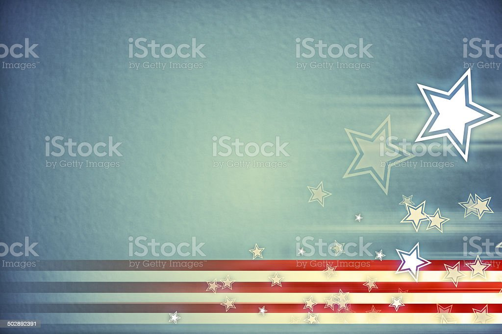For a country who has proudly earned their stripes vector art illustration