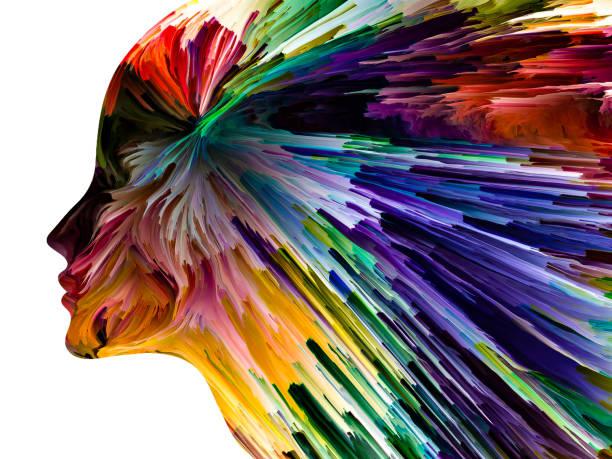Forces Inside vector art illustration