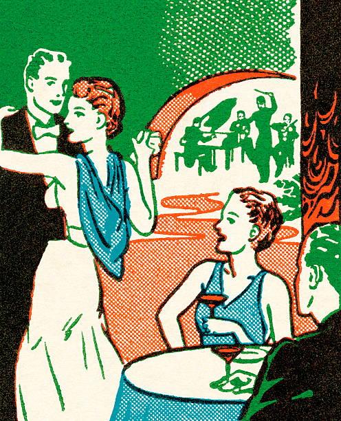 Night-club classique - Illustration vectorielle