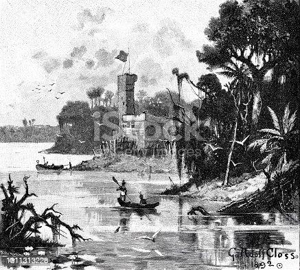 istock Fort La Navidad, Hispaniola 1311313228