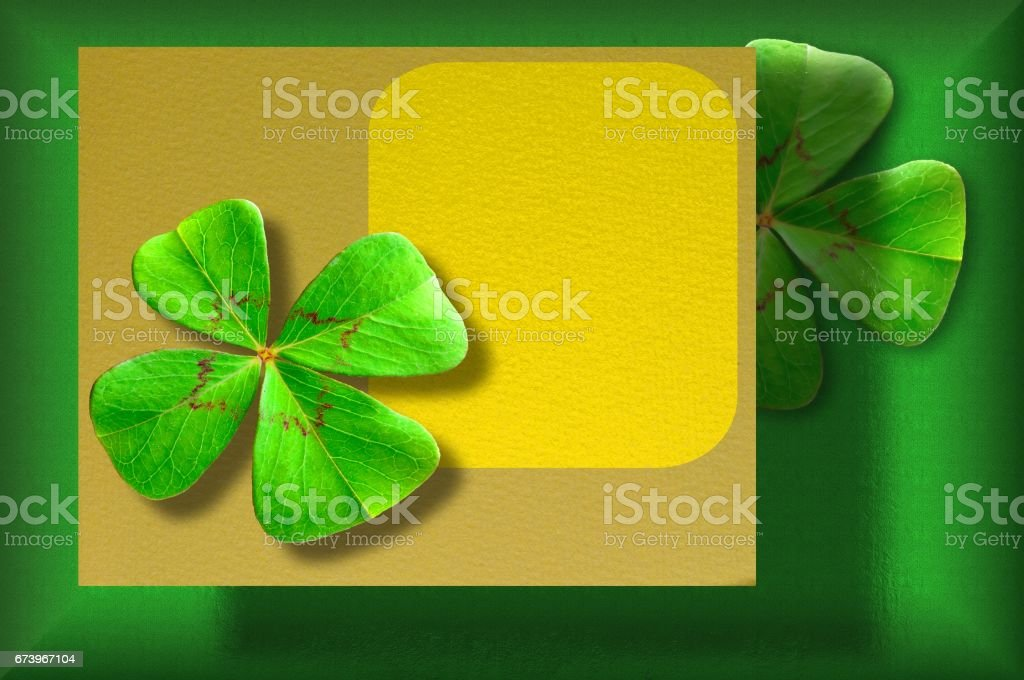 Four clover on background of old paper royalty-free four clover on background of old paper stock vector art & more images of art