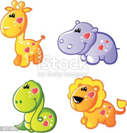 Four  funny animals 1