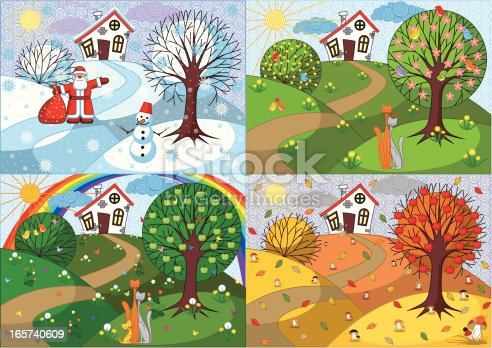istock Four Seasons 165740609