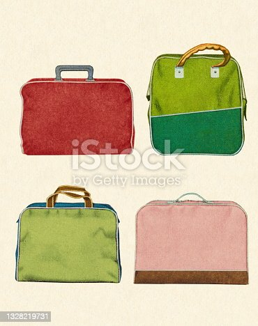 Four Various Tote Bags