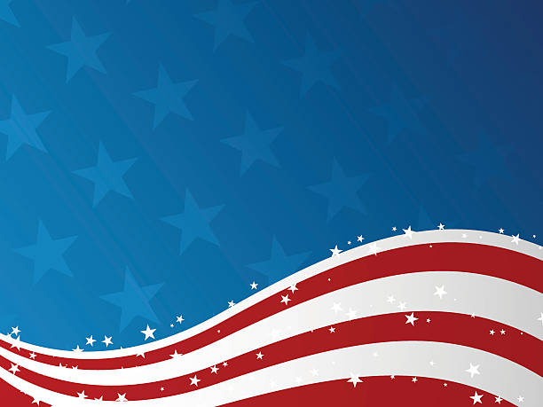 Fourth of July Background  independence day illustrations stock illustrations