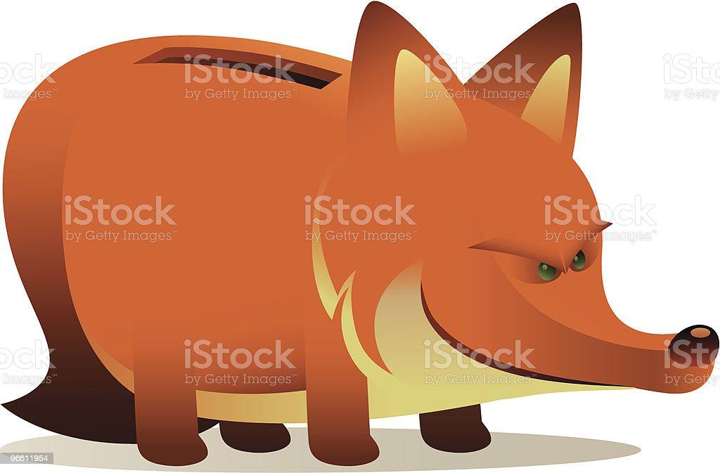 foxy монета» - Векторная графика Без людей роялти-фри