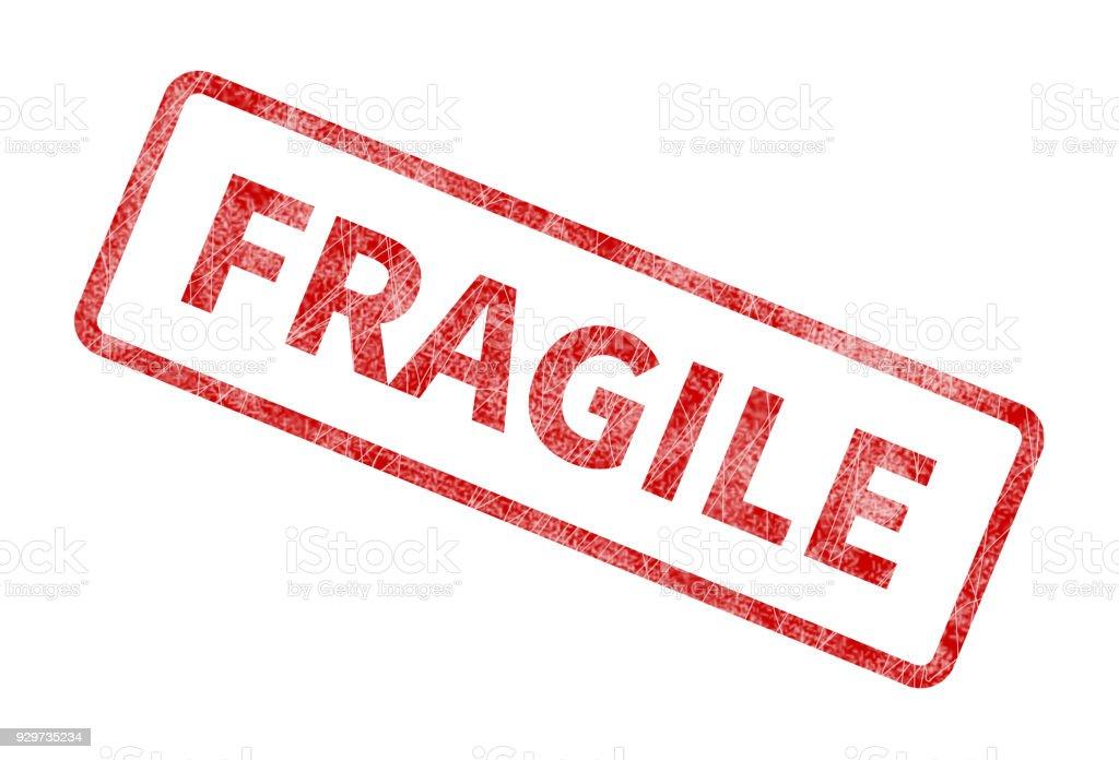 Fragile Stamp Red Grunge Seal Stock Vector Art & More ...