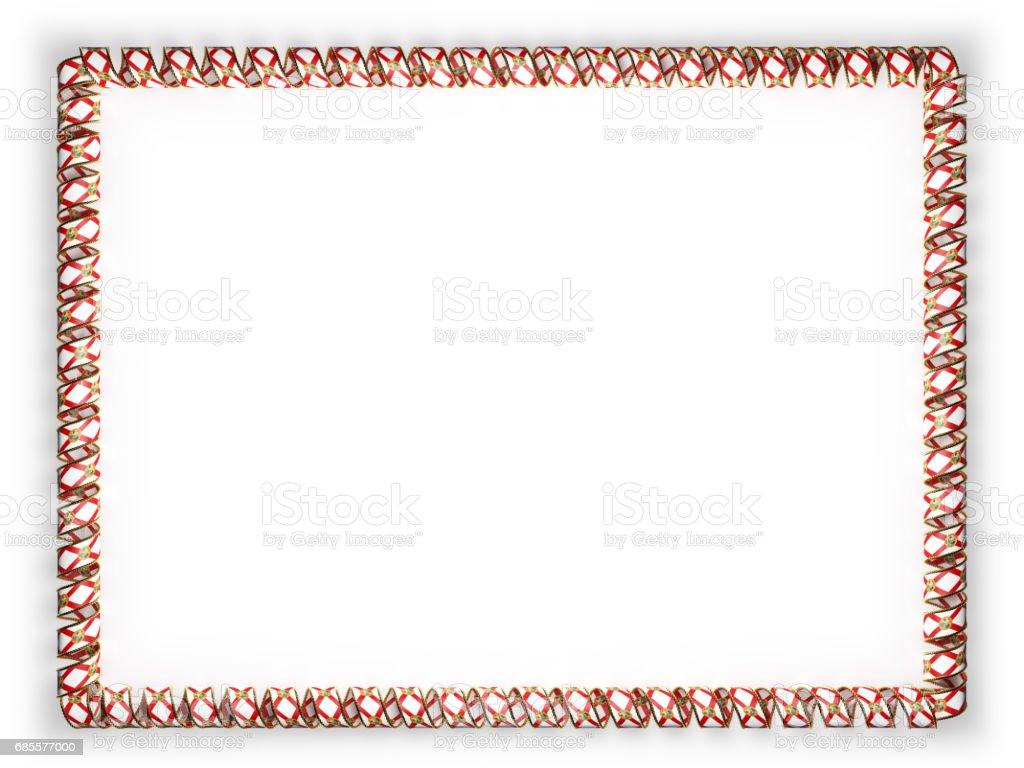 框架和絲帶系州佛羅里達州旗,美國,從金繩磨邊的邊框。3d 圖 免版稅 框架和絲帶系州佛羅里達州旗美國從金繩磨邊的邊框3d 圖 向量插圖及更多 人 圖片