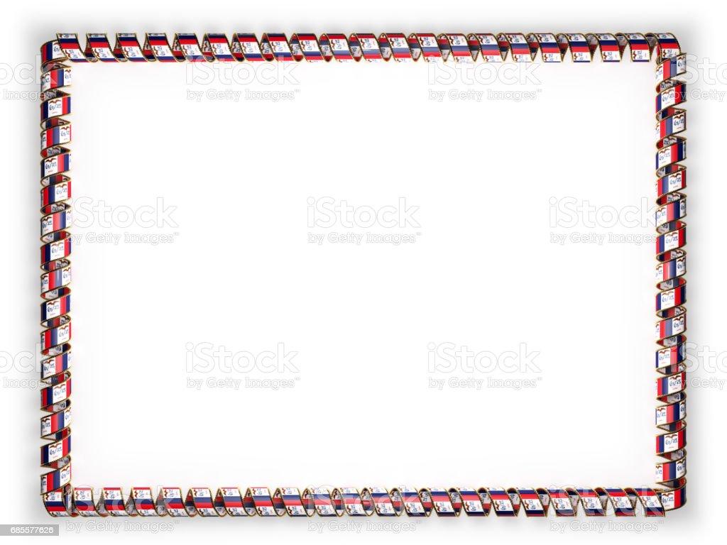 Rahmen und Rand des Bandes mit der Staat Iowa Flagge, USA, Einfassung aus dem goldenen Seil. 3D illustration Lizenzfreies rahmen und rand des bandes mit der staat iowa flagge usa einfassung aus dem goldenen seil 3d illustration stock vektor art und mehr bilder von anreiz