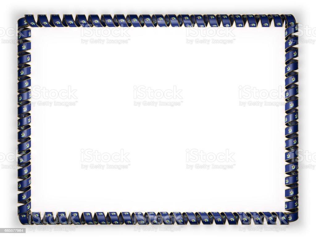 框架和絲帶系州緬因州旗,美國,從金繩磨邊的邊框。3d 圖 免版稅 框架和絲帶系州緬因州旗美國從金繩磨邊的邊框3d 圖 向量插圖及更多 人 圖片