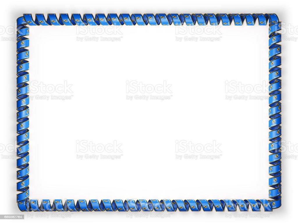 프레임과 리본 플래그로 상태 오클라호마, 미국, 황금 밧줄에서 테두리의 테두리. 3 차원 일러스트 레이 션 royalty-free 프레임과 리본 플래그로 상태 오클라호마 미국 황금 밧줄에서 테두리의 테두리 3 차원 일러스트 레이 션 공란에 대한 스톡 벡터 아트 및 기타 이미지
