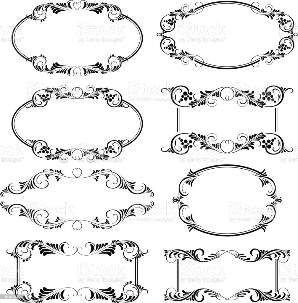 frames royalty-free frames stock vector art & more images of abstract