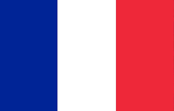 ilustraciones, imágenes clip art, dibujos animados e iconos de stock de bandera francia. - bandera francesa