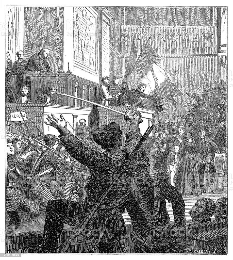 フランス自由主義革命1848ニュー...