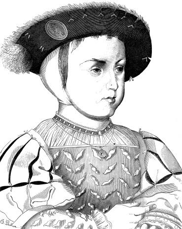 Francis II portrait by Clouet