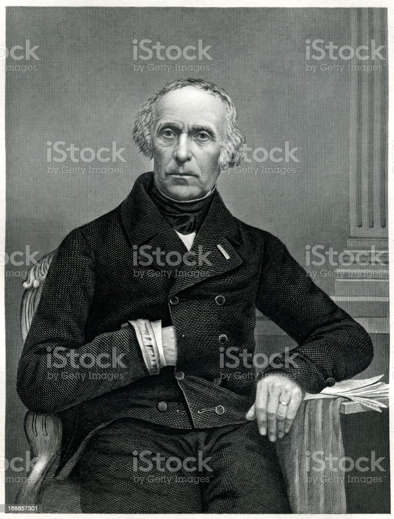 Francois Guizot royalty-free francois guizot stock vector art & more images of 1873