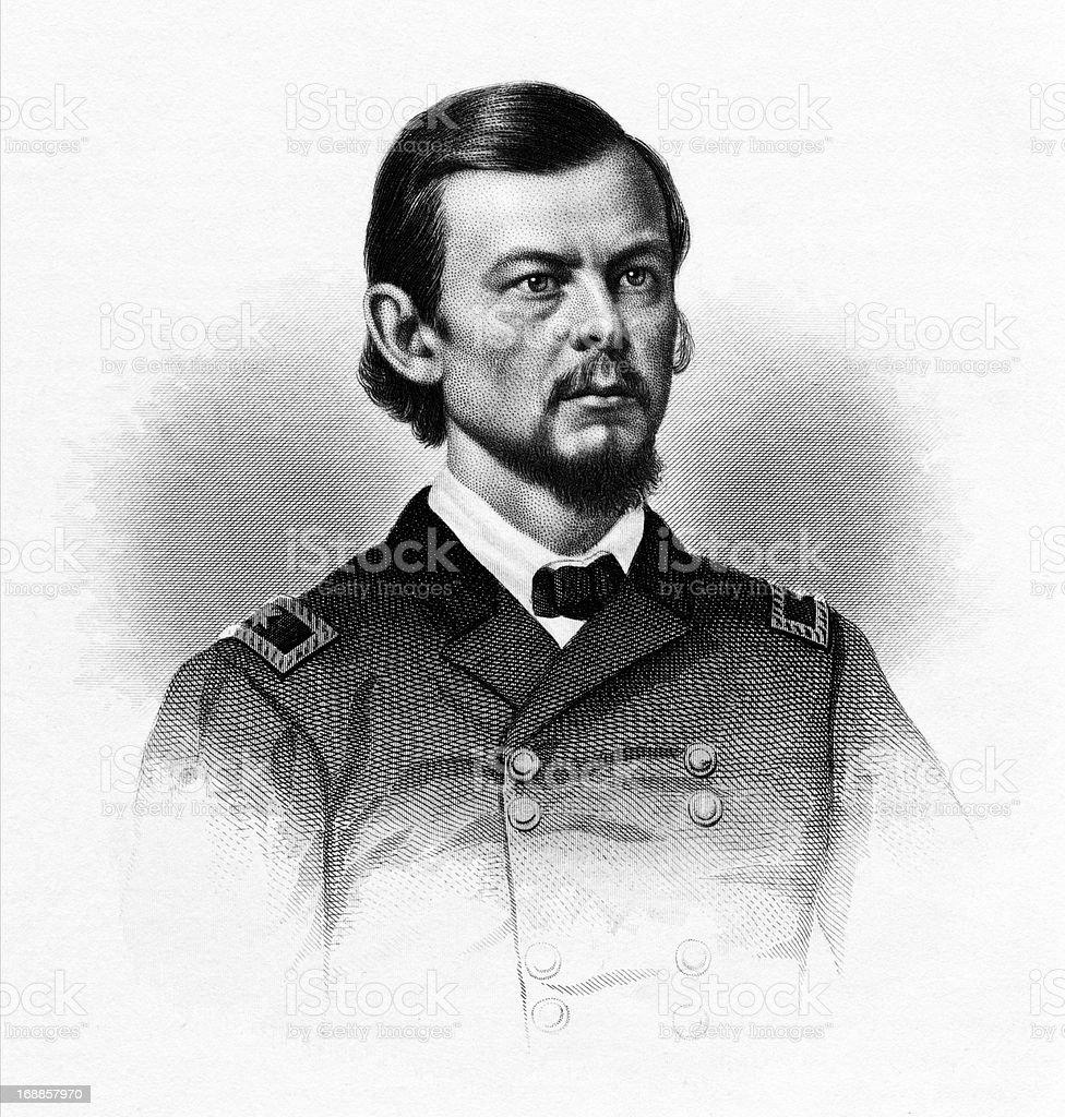 Franz Sigel royalty-free stock vector art