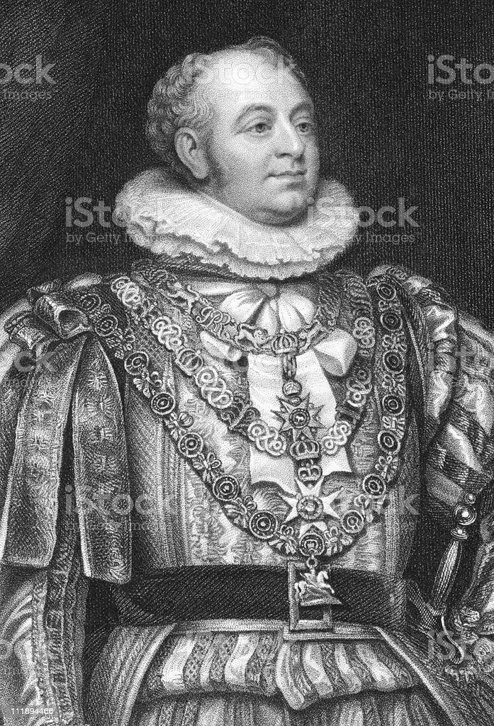 Frederick Duke of York and Albany vector art illustration