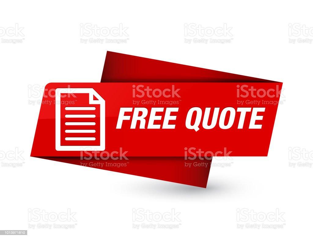 Signe De Balise Rouge Devis Gratuit Premium Vecteurs Libres