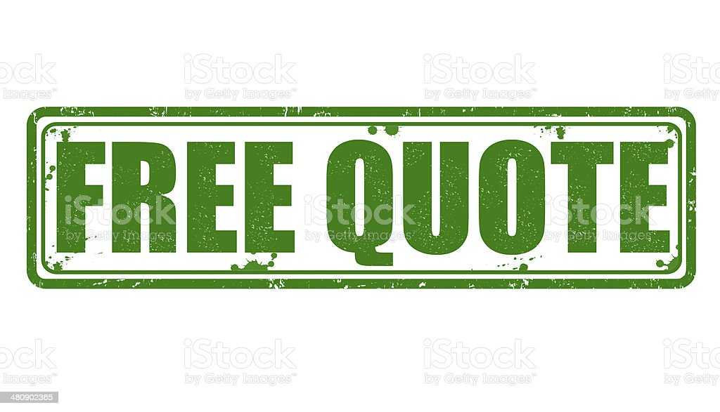 Free quote stamp royalty-free stock vector art