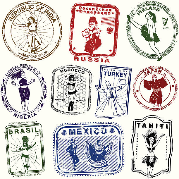 bildbanksillustrationer, clip art samt tecknat material och ikoner med freewheelin mean dealin dancing on the ceeling - latino music