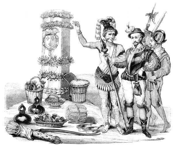 Best French And Indian War Illustrations, Royalty-Free Vector
