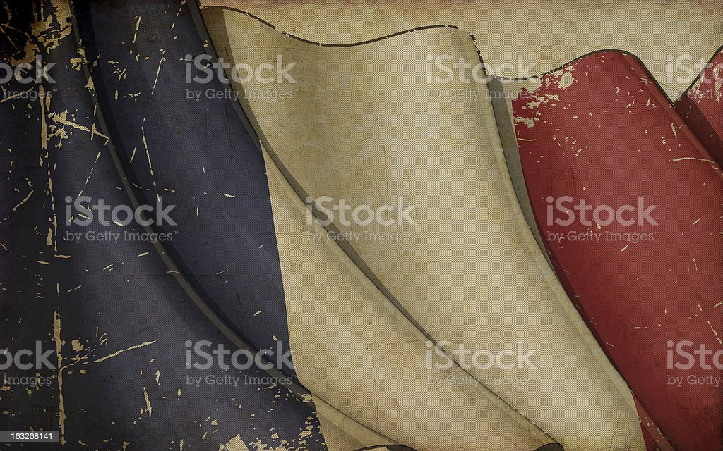 French Flag Old Paper royalty-free french flag old paper stock vector art & more images of ancient