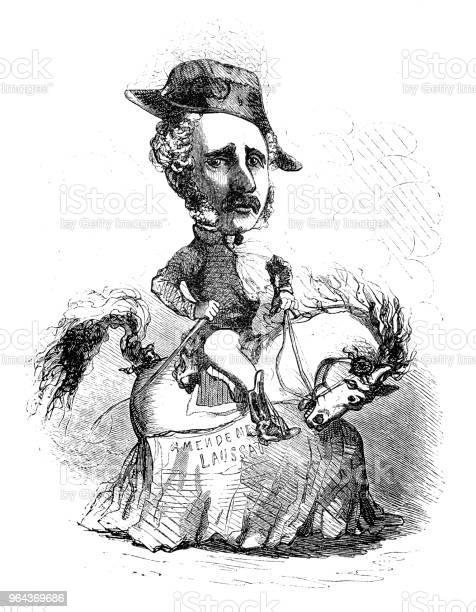 Vetores de Sátira De Políticos Franceses Caricatura De Quadrinhos Desenhos Animados Ilustrações e mais imagens de Adulto