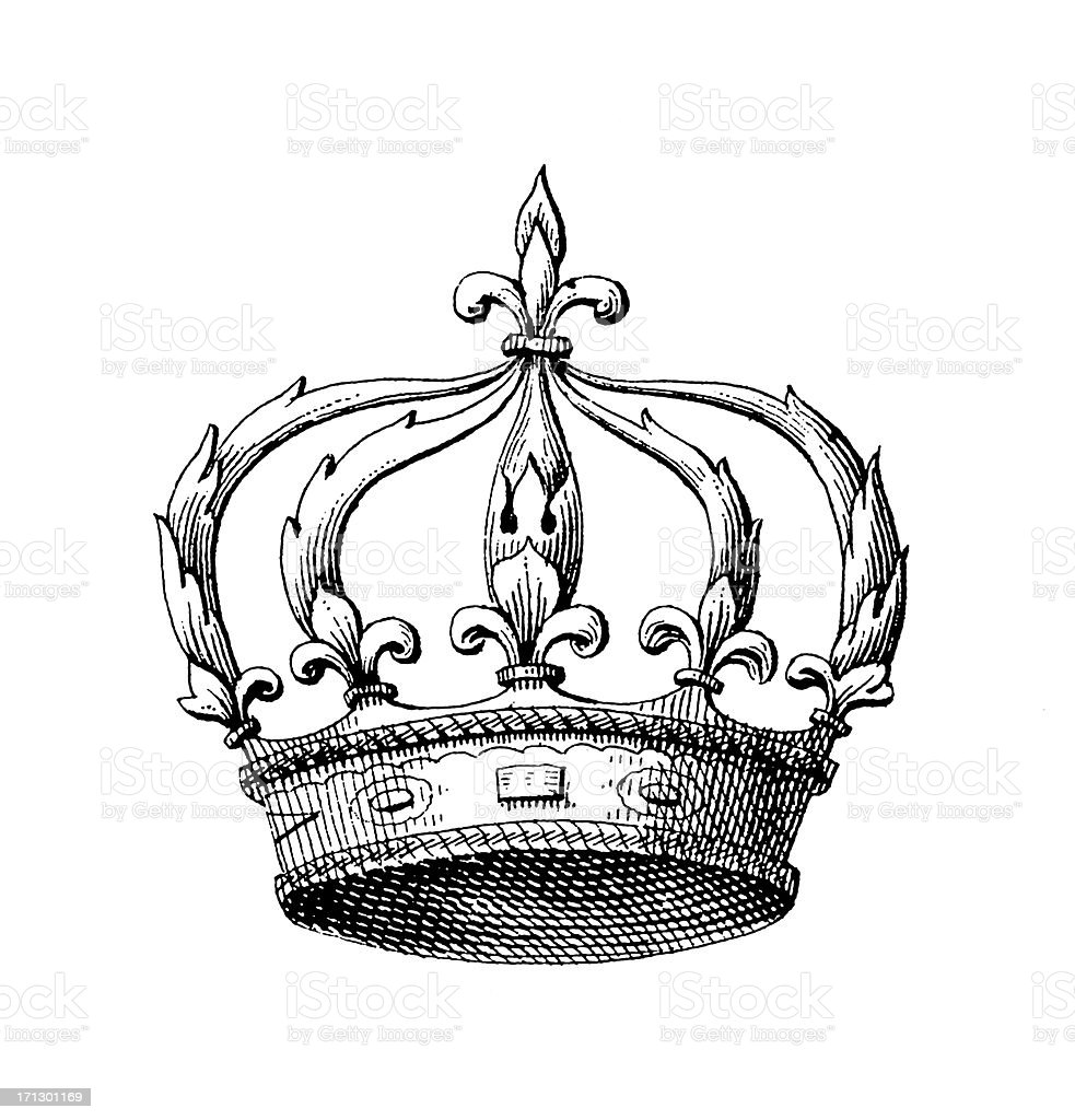 french royal crown historic symbols of monarchy and rank