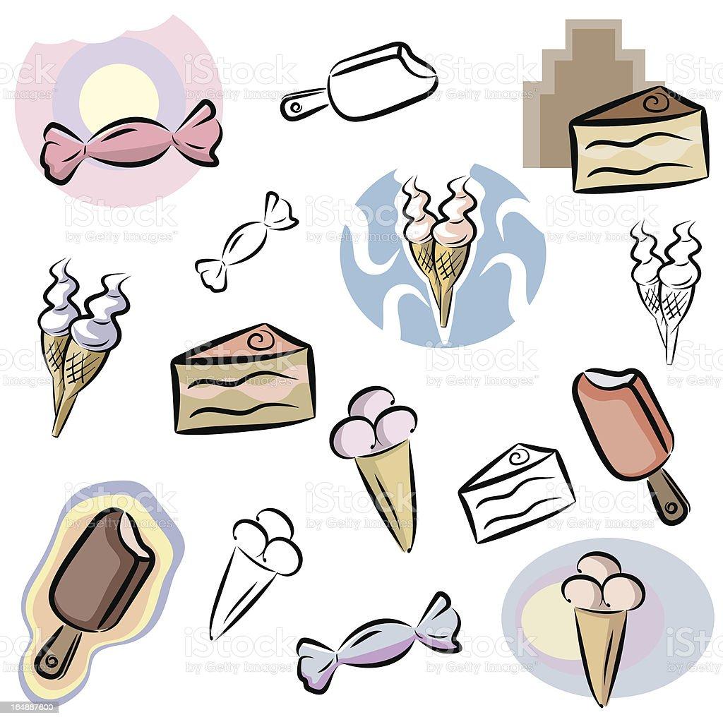 Fresh Icons: Food Icons VI (Vector) royalty-free fresh icons food icons vi stock vector art & more images of baking