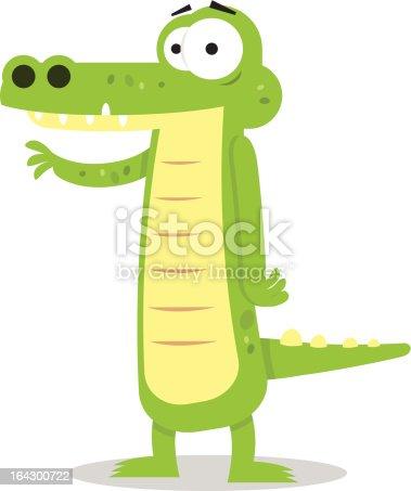 istock Friendly Alligator 164300722