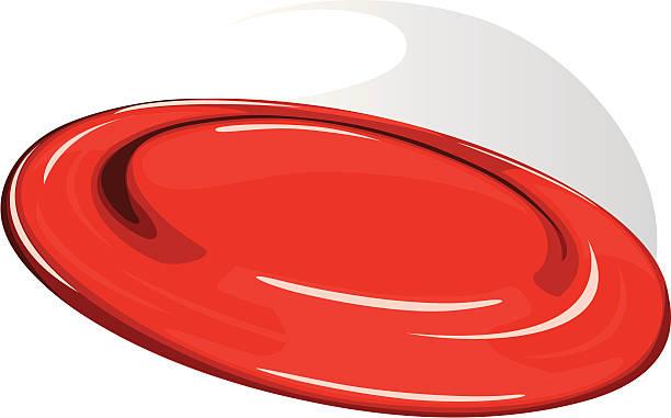 frisbee vector art illustration