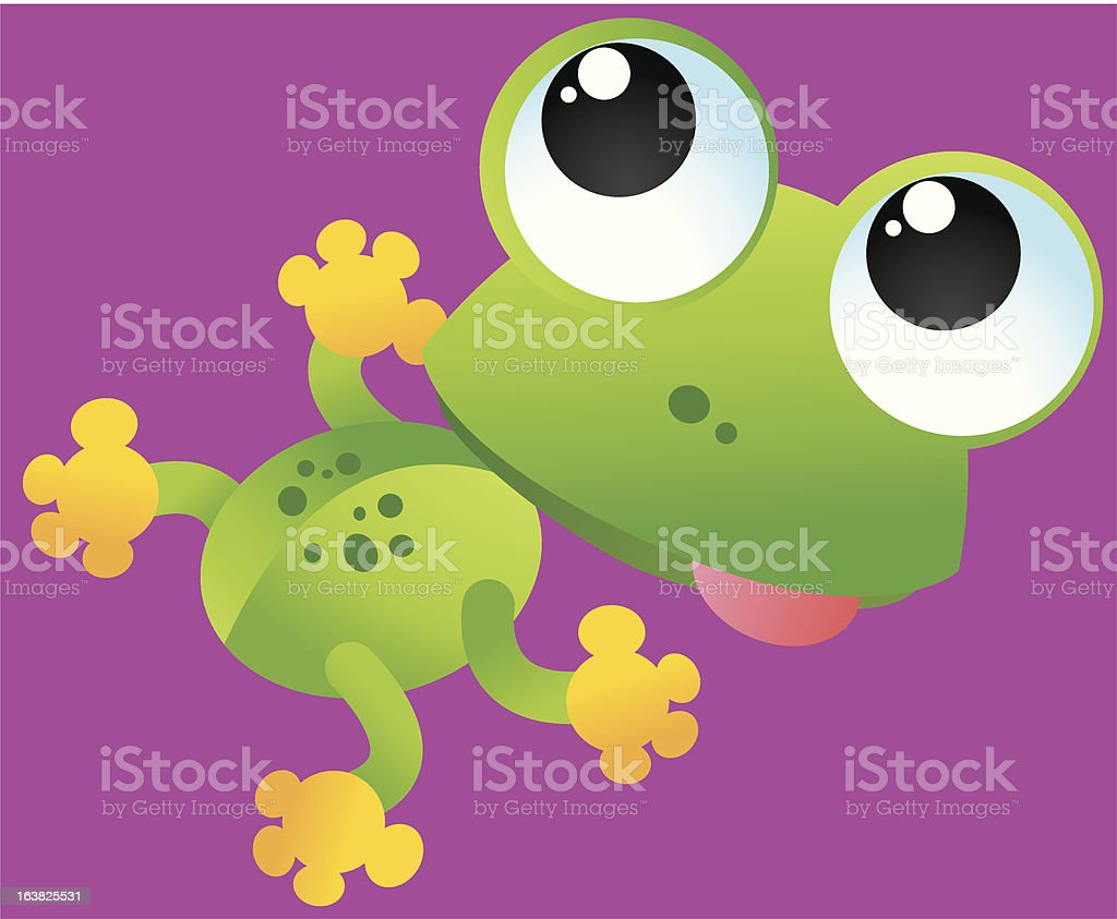 Frog royalty-free frog stock vector art & more images of animal