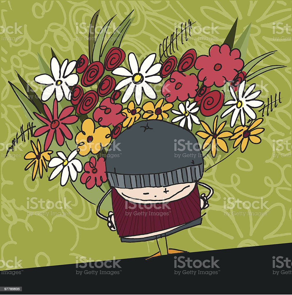 From me to you... royalty-free stock vector art